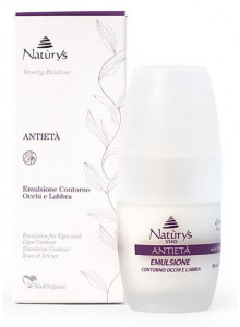 Anti-Age Toning Fluid for Eye and Lip Contour, 30ml / Naturys