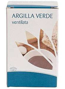 Clay, green ventilated clay, 200g, food supplement / Fior di Loto