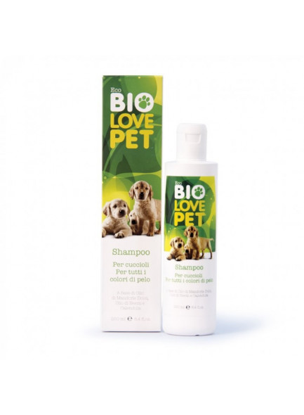 Shampoon kutsikatele, 250ml / BEMA BioLove Pet
