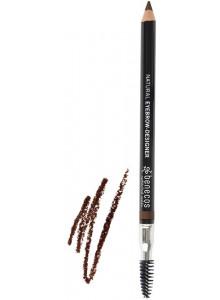 Карандаш для бровей, темно-коричневый / Benecos