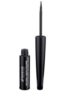 Natural Liquid Eyeliner rajausväri, musta, 3ml / Beneco