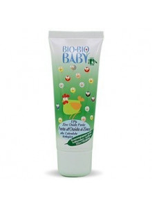 Bio-Bio Baby Barrier Paste with Zinc Oxide, Calendula, Shea Butter, 75ml
