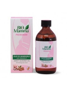 Oil, Sweet Almond oil, cold-pressed, 200ml / Bio Mamma