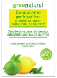 Deodorizer for fridge, lemon / Greenatural
