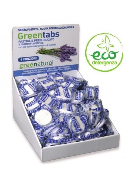 Powder Laundry Detergent Tab, 1 pcs, lavender / Greenatural