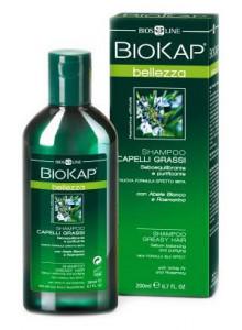 Shampoo per capelli grassi, 200ml / BioKap