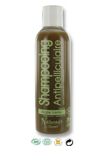 Shampoo anti dandruff, 200ml, green Clay, Juniper, Pine & Sage / Naturado