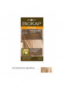Краска для волос Biokap Nutricolor  10.0 / Платиновый блондин