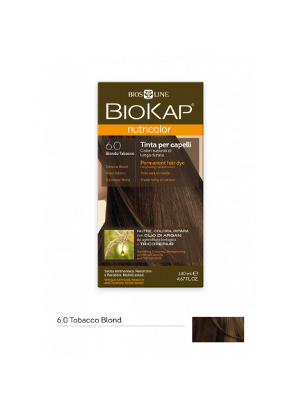 Biokap Nutricolor 6.00 / tubaka blond püsivärv