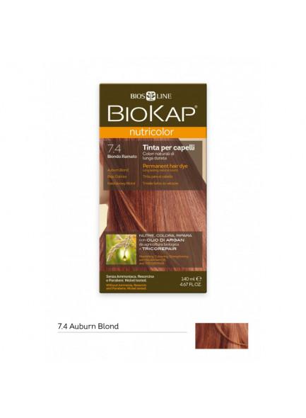 Molto Biokap Nutricolor Tinta 7.40 / Biondo ramato - Bio4You DU01
