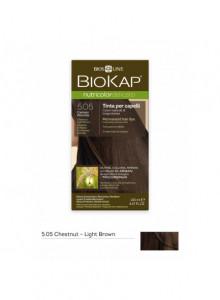 Краска для волос Biokap Nutricolor 5.05 / Ореховый каштан