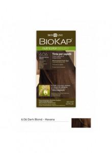 Краска для волос Biokap Nutricolor 6.0 / Темный пепелный