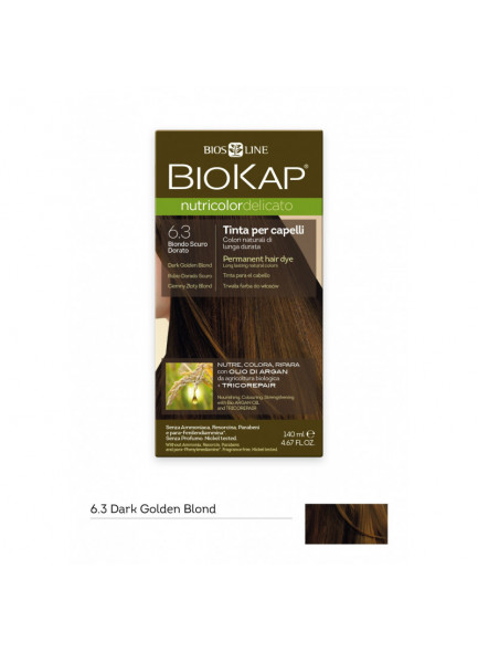 Preferenza Biokap Nutricolor Delicato Tinta 6.3/ Biondo scuro dorato - Bio4You BF34