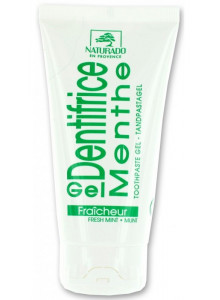 Toothpaste gel, fresh mint, 75ml / Naturado