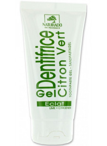 Toothpaste gel, lemon, 75ml / Naturado