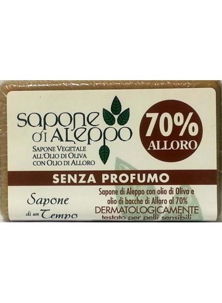 Aleppo soap 70%, 125g / Sapone di un Tempo