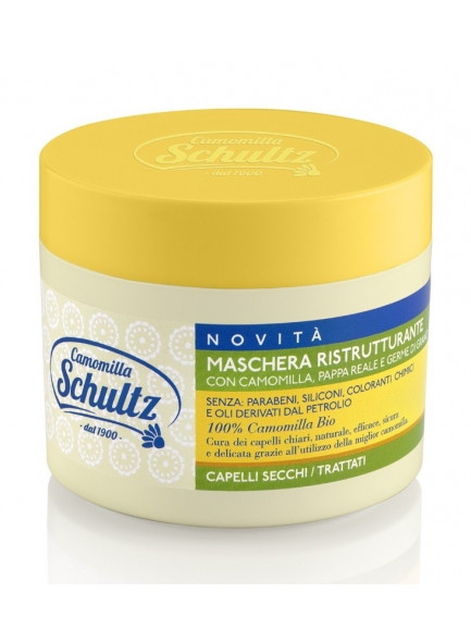 Repairing hair mask with chamomile, 300ml / Schultz