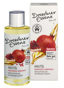 Massage and Body Oil, 200ml, pomegranate / Dresdner Essenz