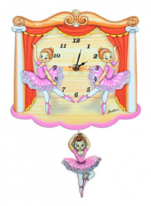 Wall Clock, Dancers / Bartolucci