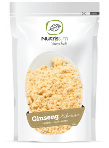 Ginseng siberiano in polvere,  250g / Nutrisslim
