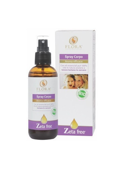 Spray corpo Zetafree, 100ml / Flora