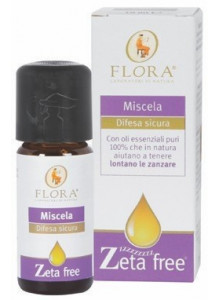 Zetafree blend of essential oils, 10ml / Flora