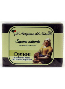 Opium Soap with charcoal, 50g / Laboratorio Naturale