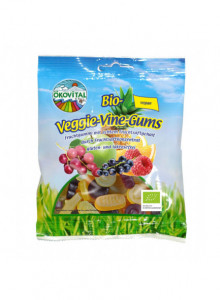 Vegan wine gummies, 100g / Ökovital