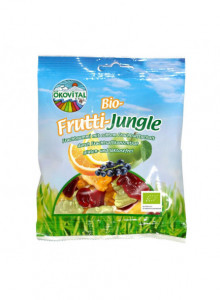 Jungle fruit gummies, 100g / Ökovital