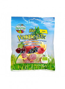 Vegan gummy mix, 100g / Ökovital