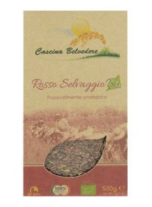 Rice, red rice, 500g / Cascina Belvedere