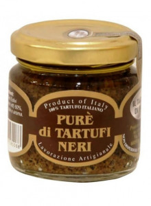 Black truffle in extra virgin olive oil, grated, 35g / Il Tartufo di Ennio
