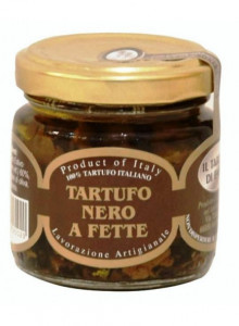 Black truffle in extra virgin olive oil, sliced, 90g / Il Tartufo di Ennio