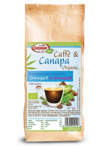 Coffee with hemp, 250g / Caffè Salomoni
