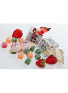 Scented cubes, 8 pcs, orange, cinnamon / Reval Candle