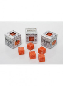 Scented cubes, 8 pcs, orange / Reval Candle
