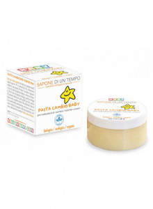 Baby zinc paste with rice starch, 100ml / Sapone di un tempo