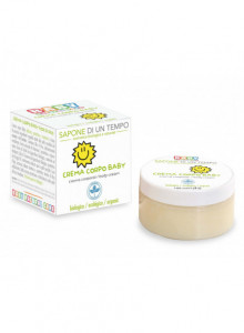 Baby body cream with rice starch, 100ml / Sapone di un tempo
