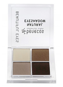 "Natural quattro eyeshadow ""Coffee & Cream"", 8g / Benecos"