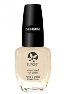 Peelable Nail Polish, Mulberry, 11ml / Suncoat