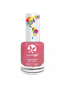 Peelable nail polish for children, Forever Fuchsia, 9ml / Suncoat