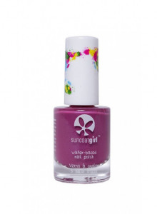 Peelable nail polish for children, Majestic Purple (vegan), 9ml / Suncoat