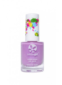 Peelable nail polish for children, Princess Purple, 9ml / Suncoat