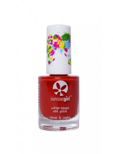 Peelable nail polish for children, Strawberry Delight, 9ml / Suncoat
