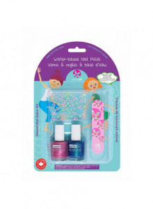"Manicure set for kids ""Little Mermaid"", 2x9ml / Suncoat"