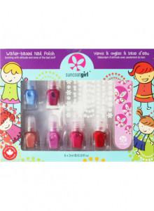 Manicure kit for kids, 6x2ml / Suncoat