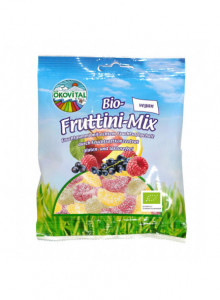 Fruit Gummy Mix, 100g / Ökovital