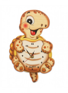 Wall clock, medium cow / Bartolucci