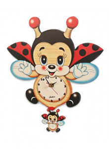Wall clock, bee / Bartolucci
