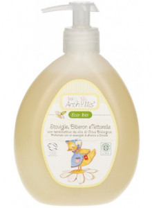 Detergent for baby's tableware and bottles, 460ml / Anthyllis